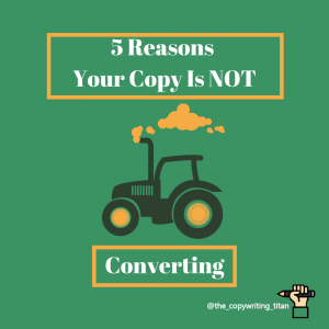 5 Reasons your copy isn't converting (and how to fix them)